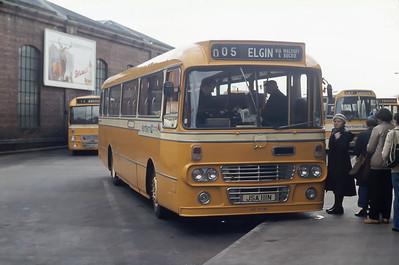 Northern NT111 Aberdeen Bus Station Mar 82