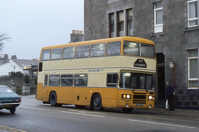 Northern NLO1 Great Western Road Aberdeen Mar 82