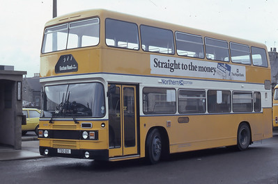 Northern NLO12 Fraserburgh Bus Station Mar 82