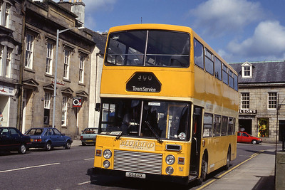 Stagecoach Bluebird NLO6 Low St Banff 1 May 92