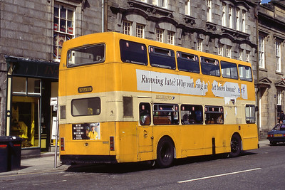 Stagecoach Bluebird NLO6 Low St Banff 2 May 92