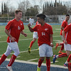 Chico High players celebrate as Alvaro Ortiz-Hernandez makes a goal during the Northern Section Soccer Championship game, Saturday, February 24, 2018, in Chico, California. (Carin Dorghalli -- Enterprise-Record)