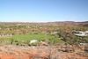 View from Alice Springs War Memorial