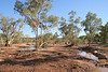 Todd river bed at Alice Springs
