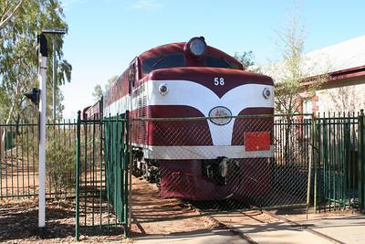 Old Ghan train
