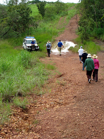 4wd training in Darwin day 2, March 2008