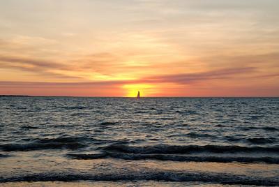 Sunset at Mindil Beach - July 2008