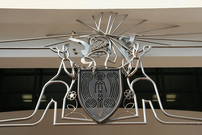 Coat of Arms at NT Parliament building