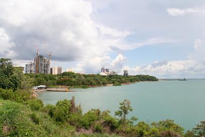Darwin city from Larrakeyah