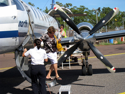 Flying to Elcho Island - April 2008