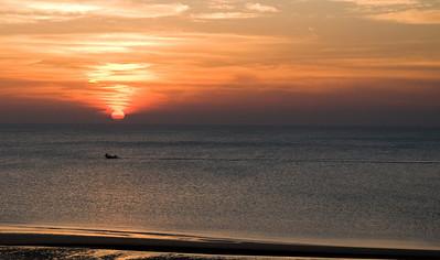 Sunset at Nayawili - August 2008