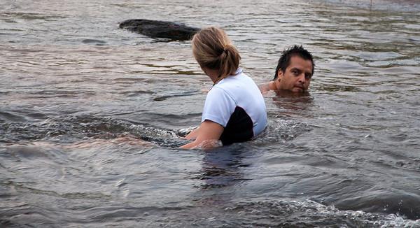 Baralminar Waterhole visit - January 2009