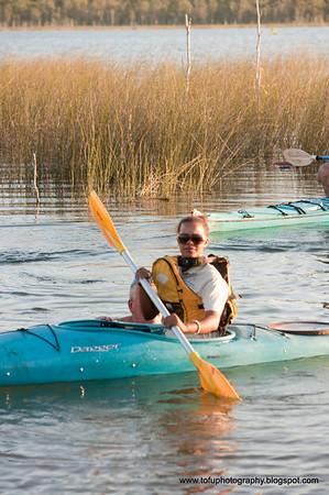 Kayaking at Lake Evella pt. 2 - April 2009