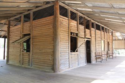 Elsey Homestead replica near Mataranka