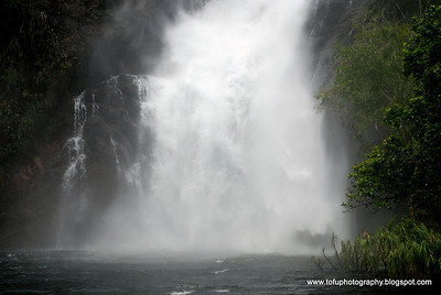 Spectacular Wangi Falls at the Litchfield National Park in the Northern Territory, March 2008