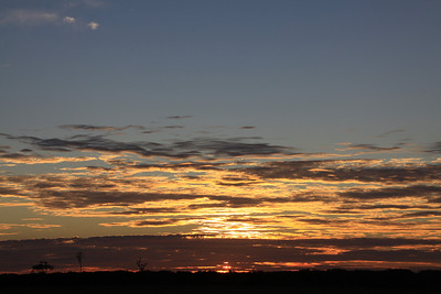 Sunrise near Darwin, July 2011