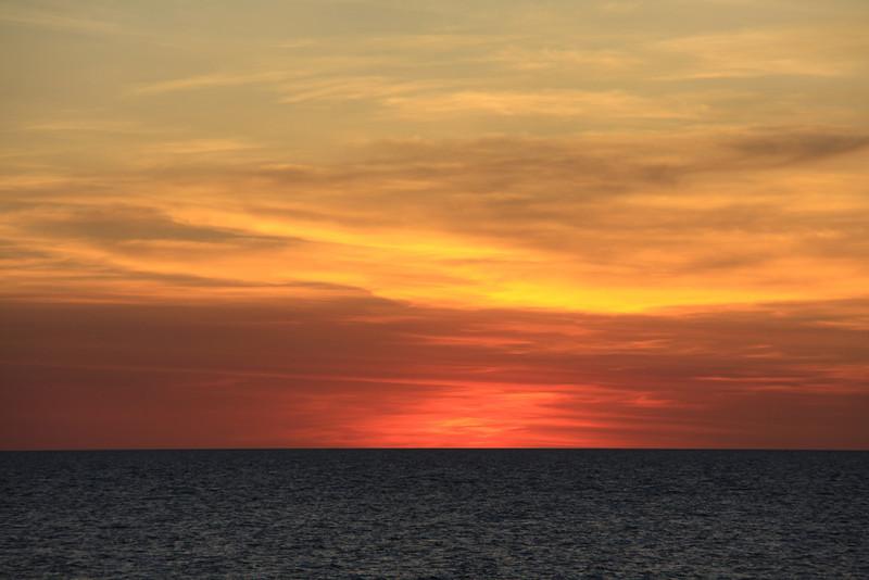 Sunset off Nightcliff, May 2011