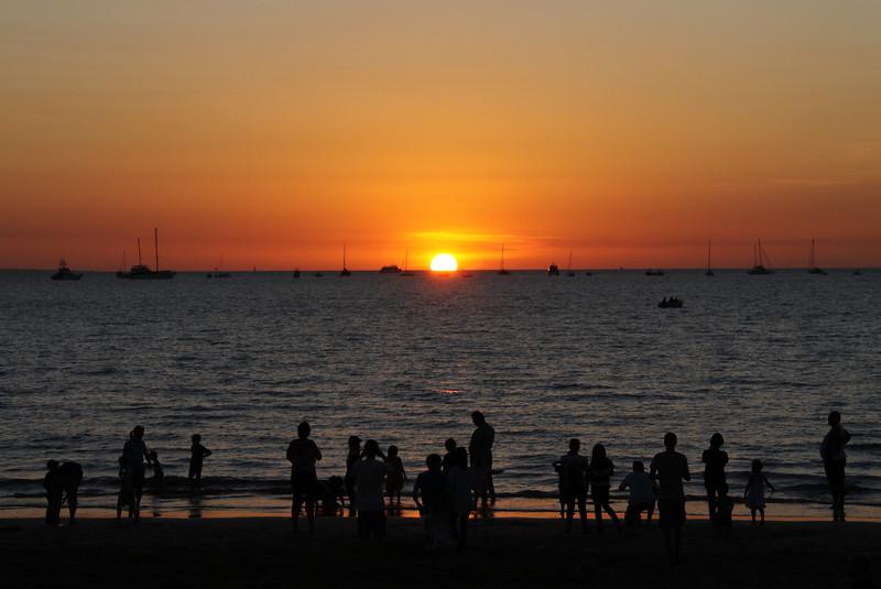 Mindil Beach Sunset, July 2011