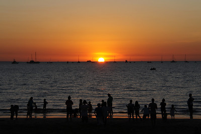 Mindil Beach Sunset, July 2011
