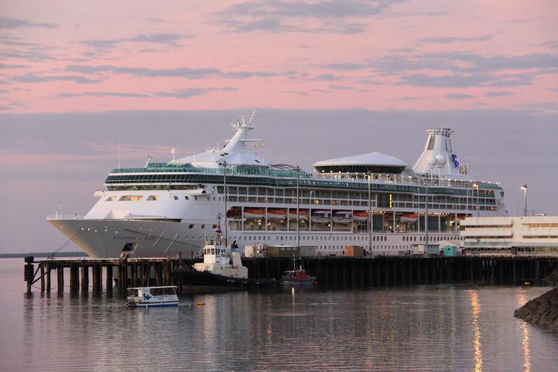 Rhapsody of the Seas @Fisherman's Wharf