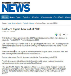 Tigers Decline Promotion