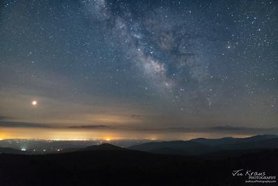 Galactic Core over Northern VA