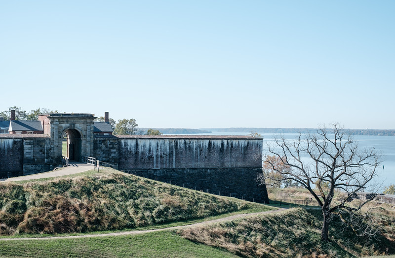Entry View: Fort Washington Park
