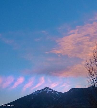 Sunrise Over Peaks