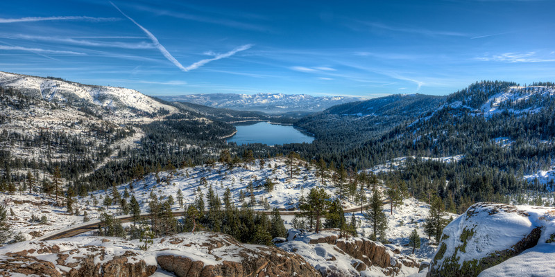 a great spot for a party (cool) | donner pass, ca