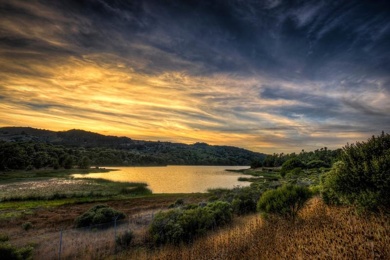 crystal springs reservoir | san mateo, ca