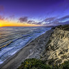 footsteps in the sunset | san gregorio