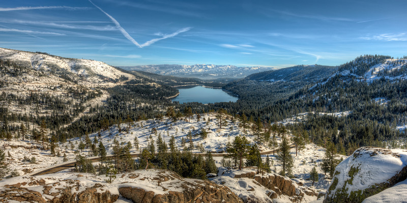 a great spot for a party (warm) | donner pass, ca