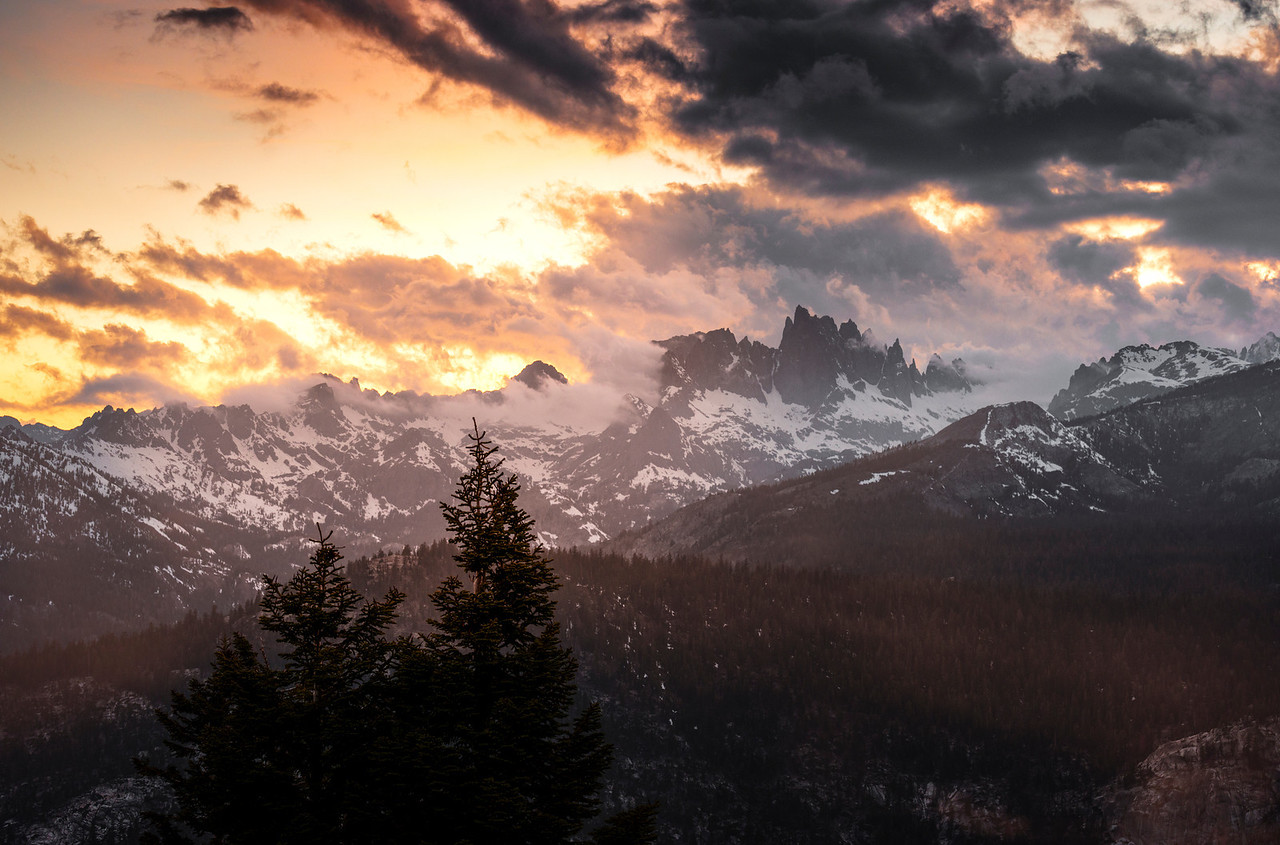 the minarets | mammoth lakes, california