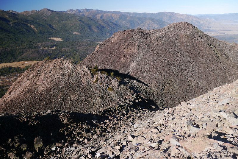 The many bumps of Black Butte