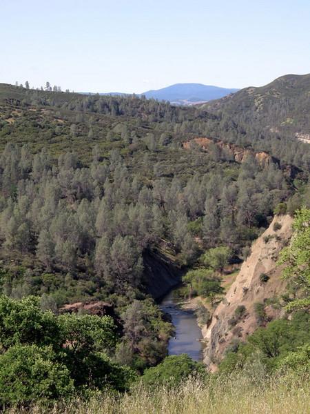 Creek view on sunday morning