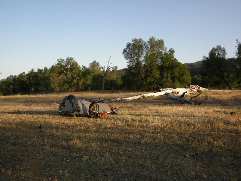 My old tent. :)<br /> <br /> Got to see my old baby when Theresa brought it on this trip.