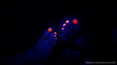 Fun with a UV flashlight