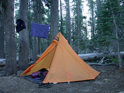Camp with the Golite Hex 2
