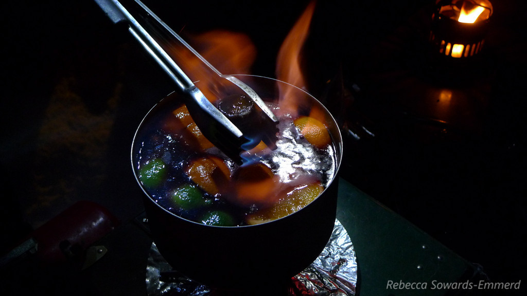 Feuerzangenbowle, a german treat taught to us years ago.