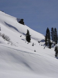 Along Diamond Peak