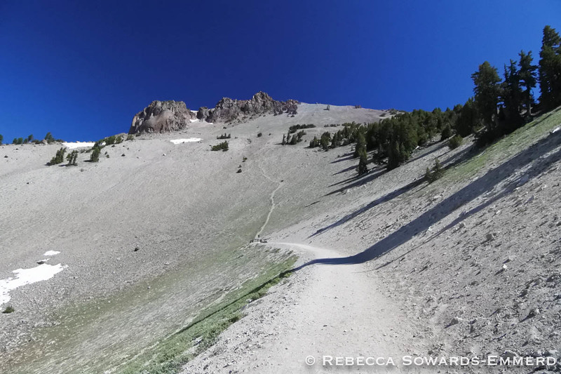 Start of Mt Lassen Trail