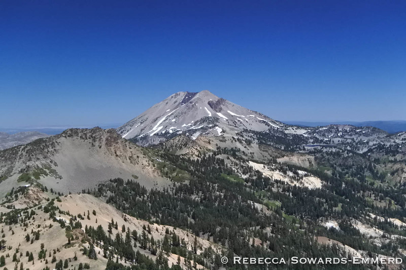 Mt Lassen from Brokeoff Summit