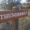 We got to lava beds and were the only car in the visitor center parking lot. After getting the guide that noted the closed caved (due to bats) we took off down the Cave Loop road to visit some of the developed caves. First stop: Thunderbolt.