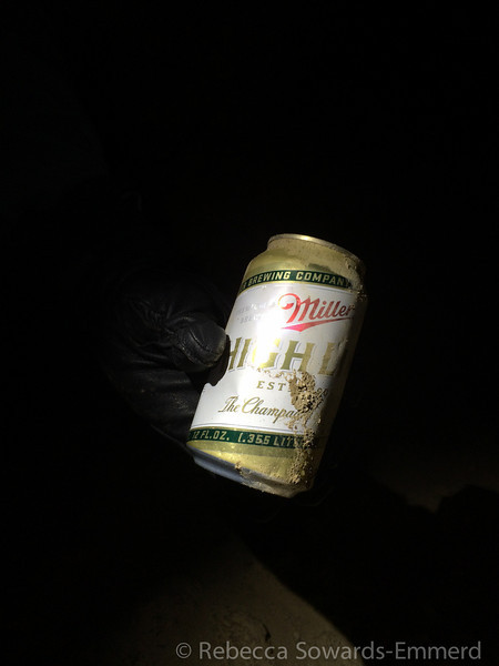 Found and carried out some trash. High Life? Really?