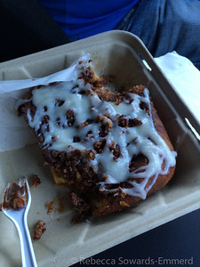 In the morning, don't miss the pecan cinnamon rolls at the Cornerstone Bakery next door. The best.