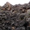 Lava talus - lots of scrambling through this stuff. Wheee.