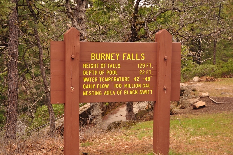 Our stop on the way home - Burney Falls