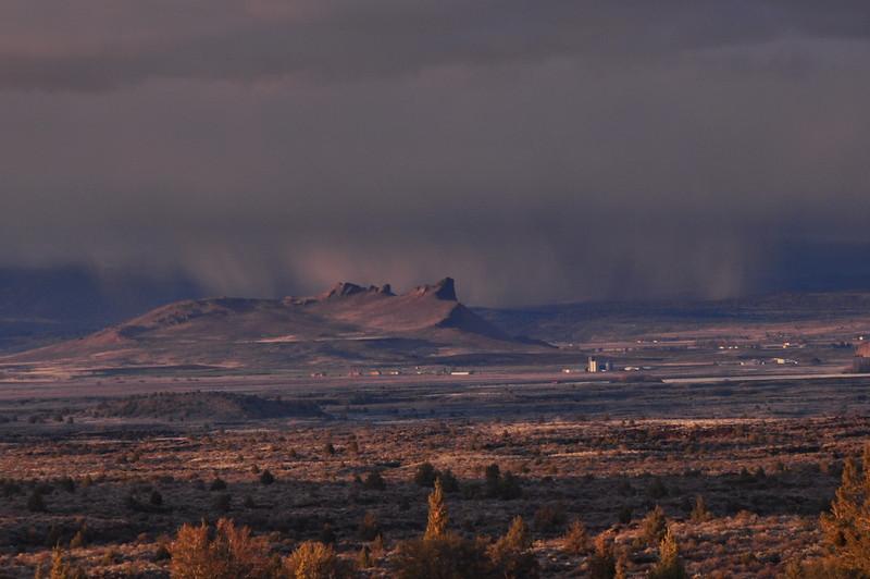 Storm beyond the Peninsula
