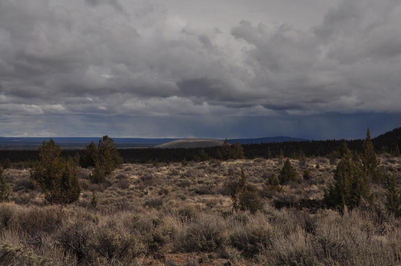 View south towards Sand Butte