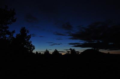 Last light over Schonchin Butte